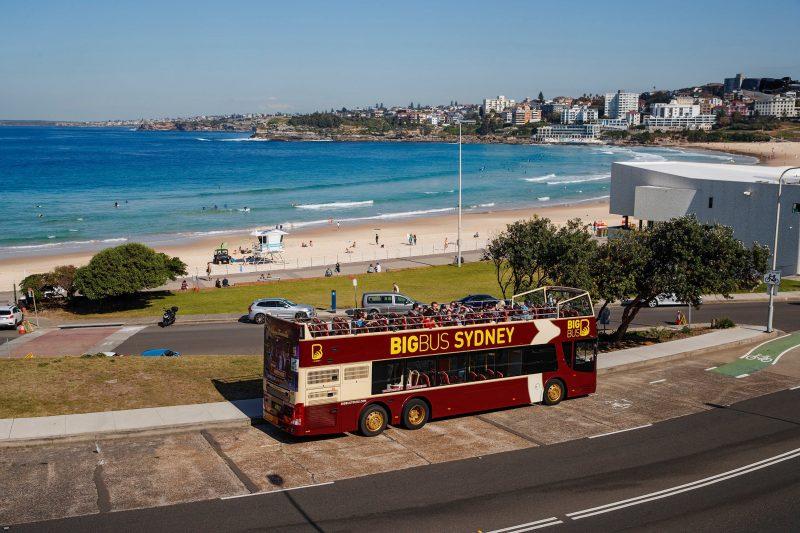 Big Bus Sydney at Bondi Beach