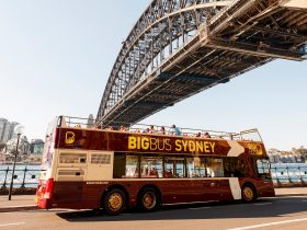 Big Bus Sydney at Dawes Point