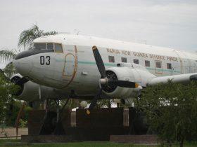 Big Plane in Moree