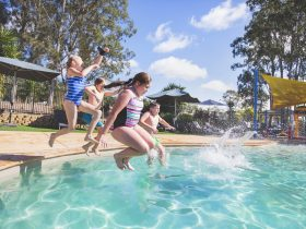 BIG4 Karuah Jetty Port Stephens Family Friendly resort swimming pool