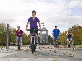 Bike Hire at Sydney Olympic Park