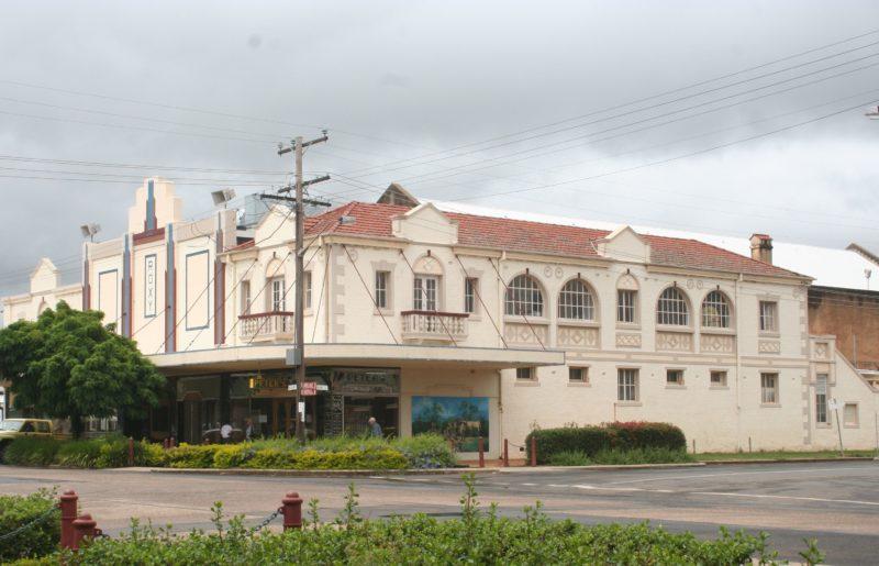 Location of Bingara Visitor Information Centre, Roxy Theatre, Roxy Cafe and Roxy Greek Museum