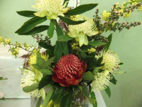 Exhibit Section C: Floral Arrangements
