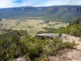 Mount Blackheath Hanggliding Launch Pad, Blue Mountains National Park. Photo: Steve Alton