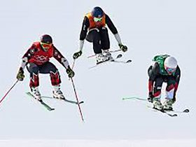 Alpine racing and Skier Cross at Perisher