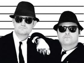 Blues Brothers in a police line up