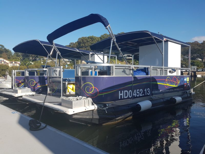 Party Pontoon. The perfect option for a family, social or corporate day out on the water.