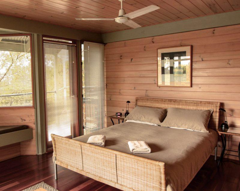 Queen Bedroom on ground level