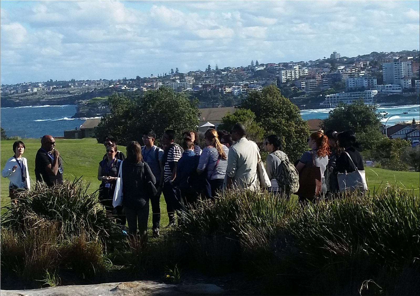 Walangari-explains-Bondi's-Aboriginal-history-during-his-unique-Bondi-Aboriginal-Walking-Tours