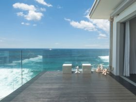 You'll love the privacy of the large terrace