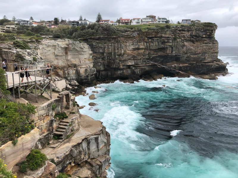 Dover Heights - the first leg of the Bondi to Manly Walk