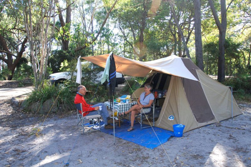 Green Patch campground, Booderee National Park