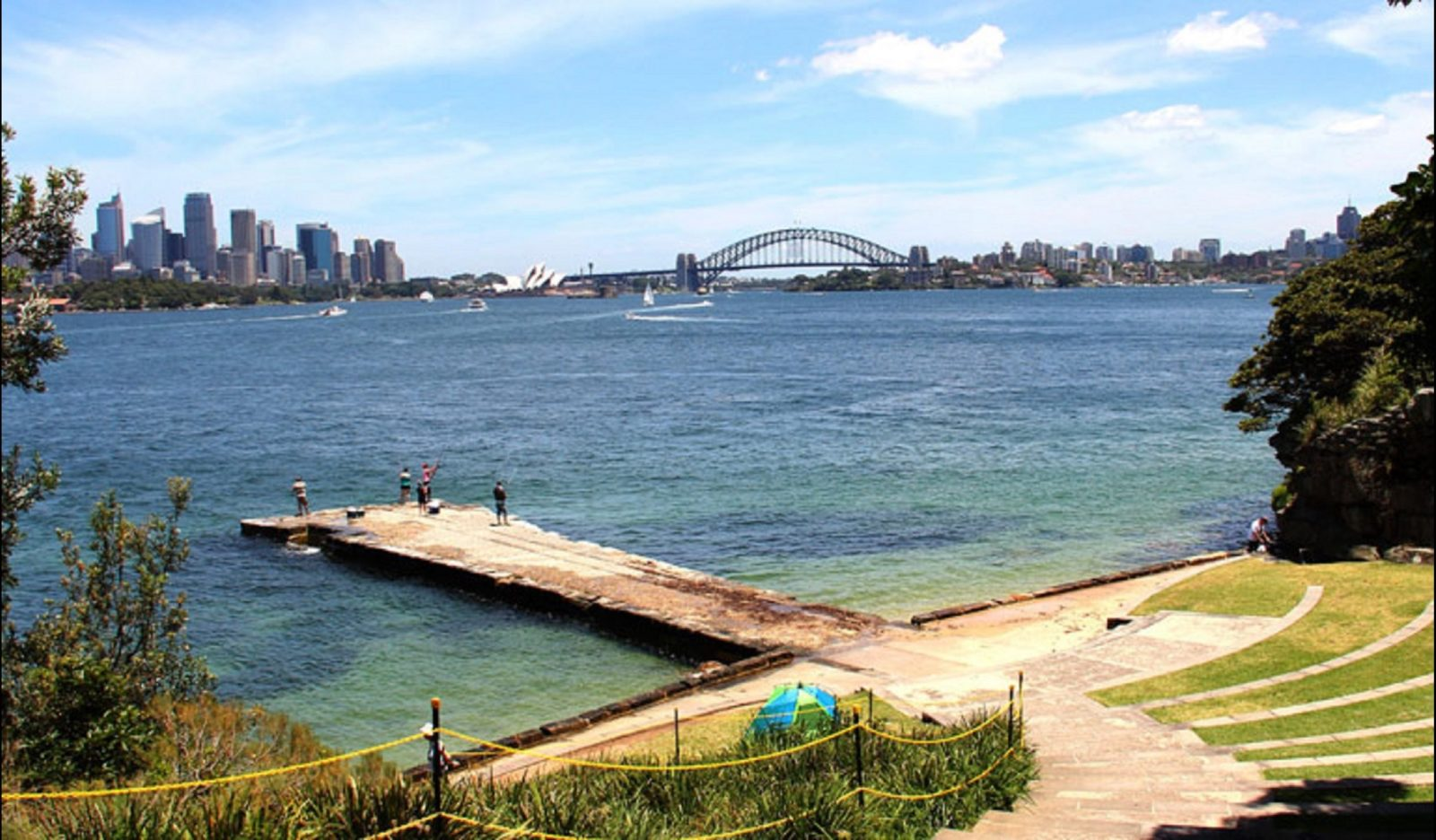 Bradleys Head to Chowder Bay Walk