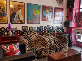 Retro Tiger print Couches