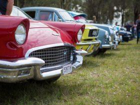 Over 300 vintage cars