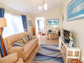 Bromyard Cottage living area