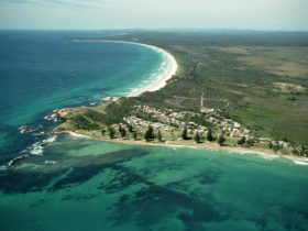 Brooms Head from the Air