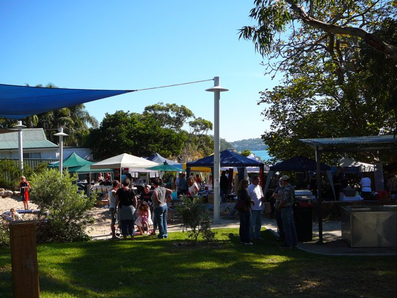 Bundeena Saltwater Market by the beach