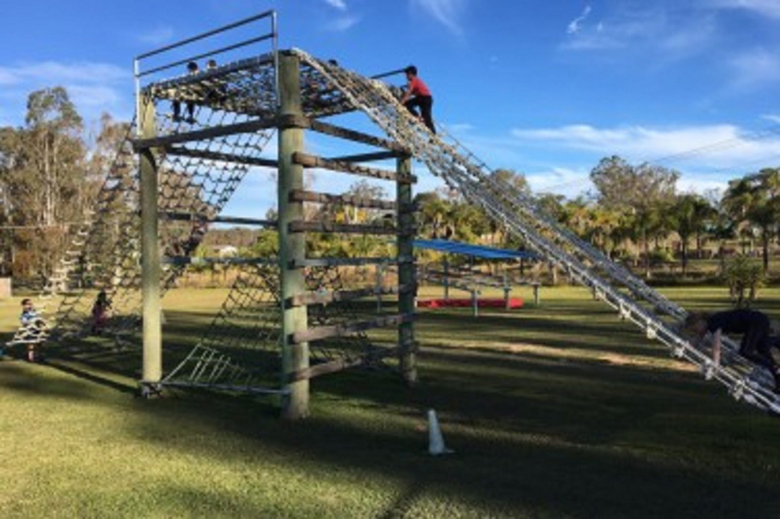 Burns Outdoor Obstacle Training