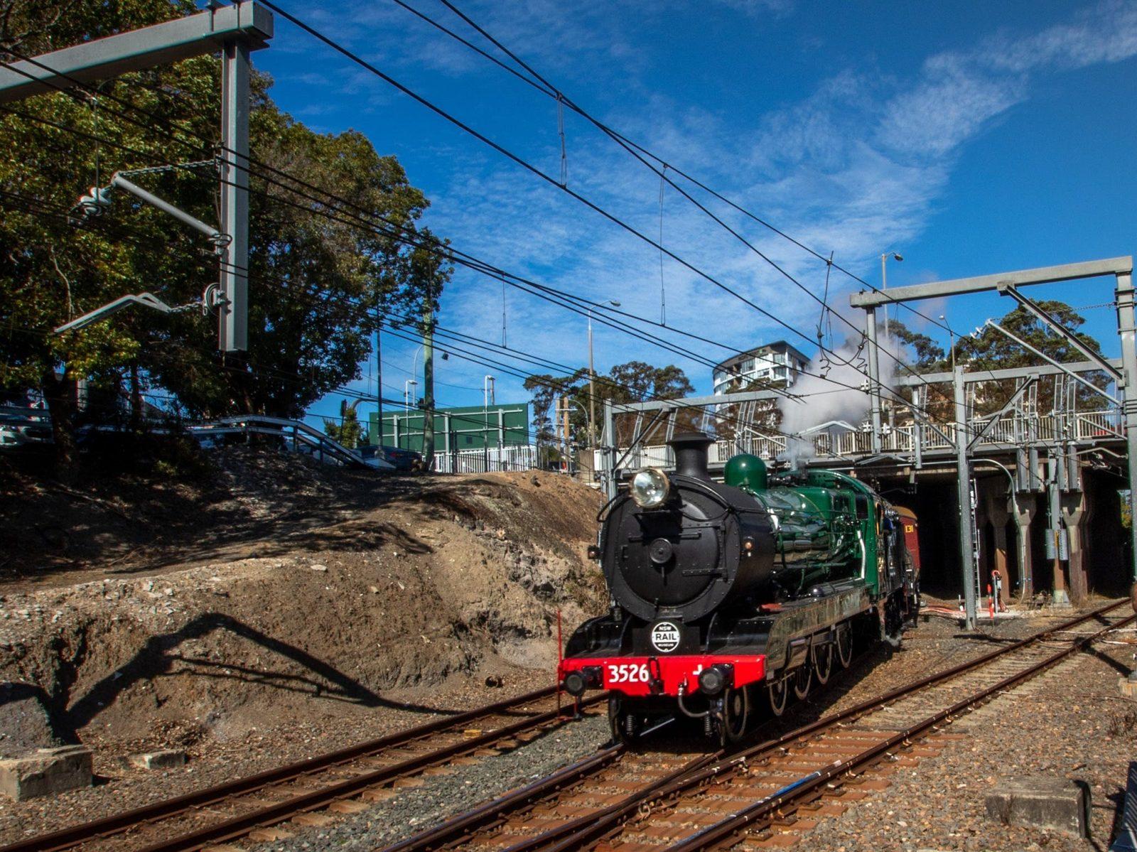 Hornsby Steam Shuttle