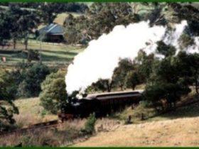 Buxton steam train