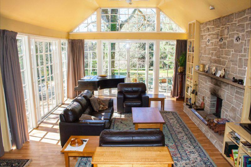 Bronte Cottage living room