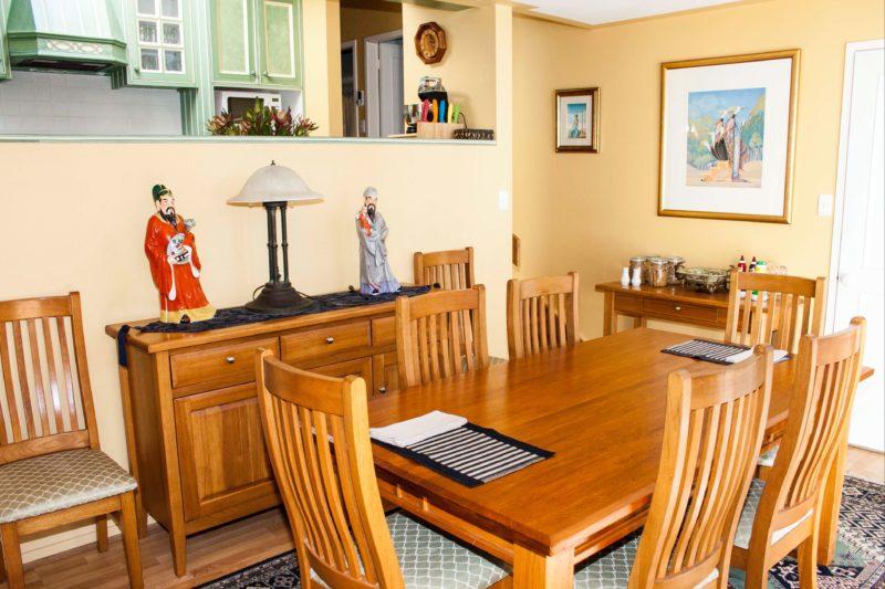 Bronte Cottage dining room