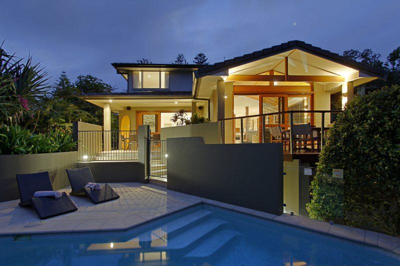 Byron Bay Beach Houses - opposite Clarkes Beach Byron Bay