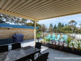 Private Courtyard and Sundeck