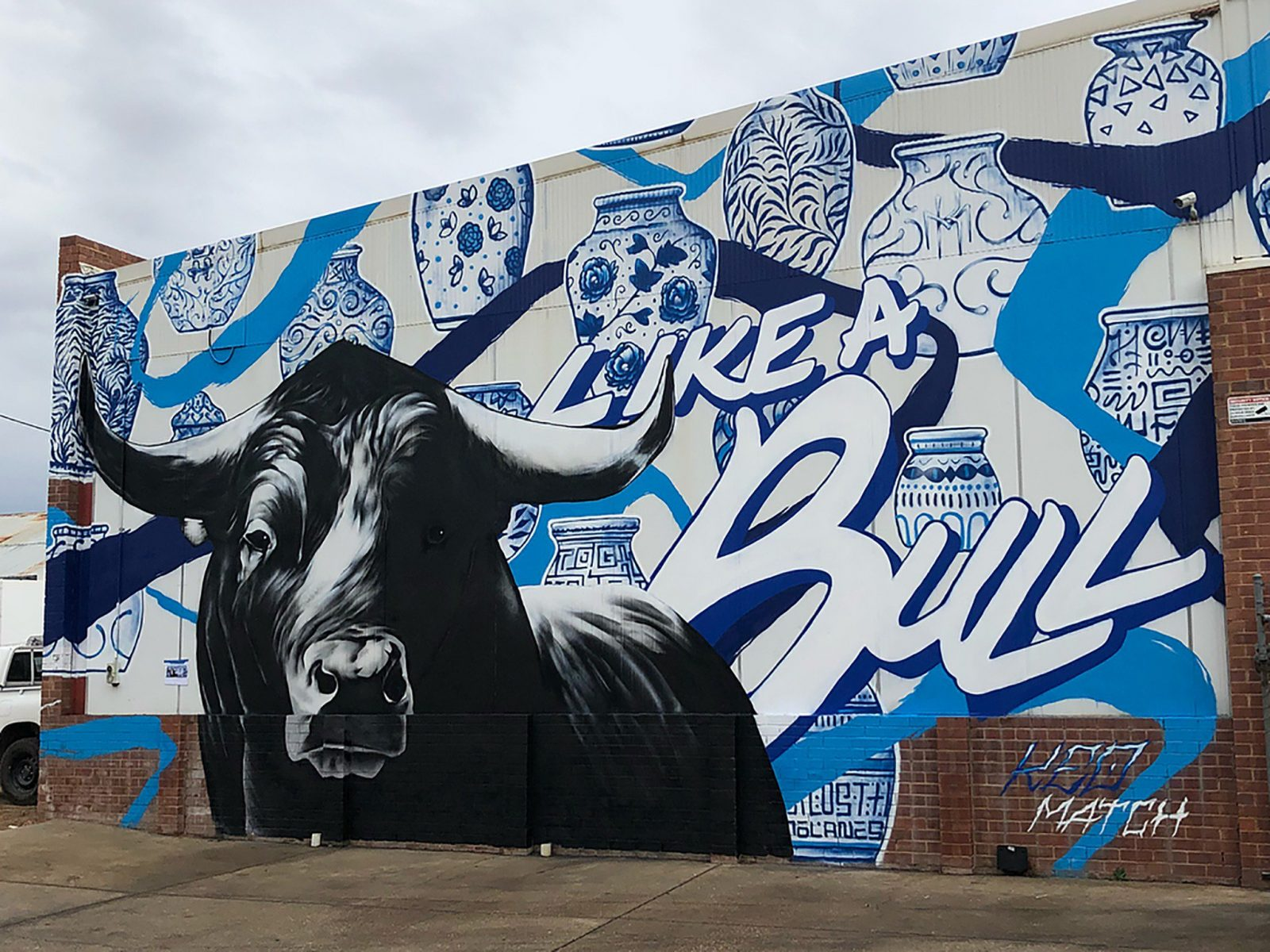 Mural in Cadell Place