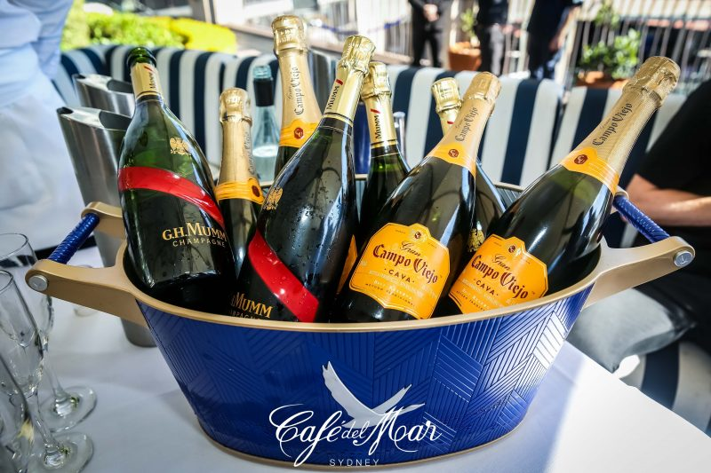 Enquire about our drinks package for beverages and food