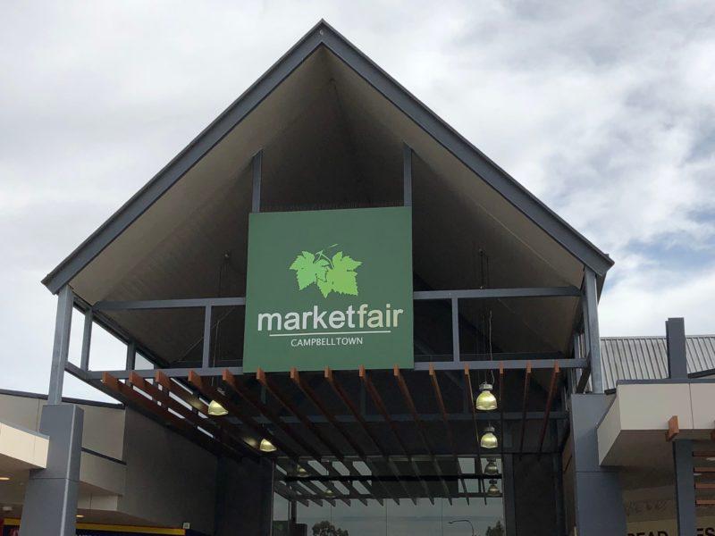 Campbelltown Marketfair entrance
