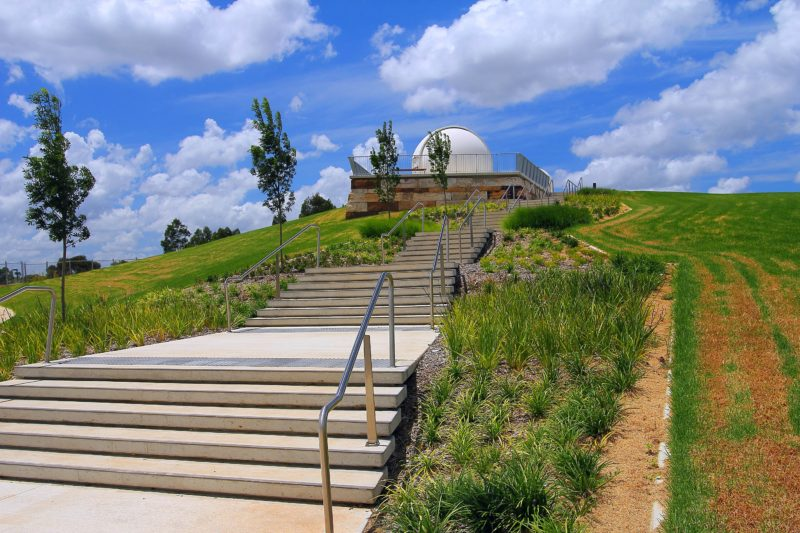 Campbelltown Rotary Observatory stairs