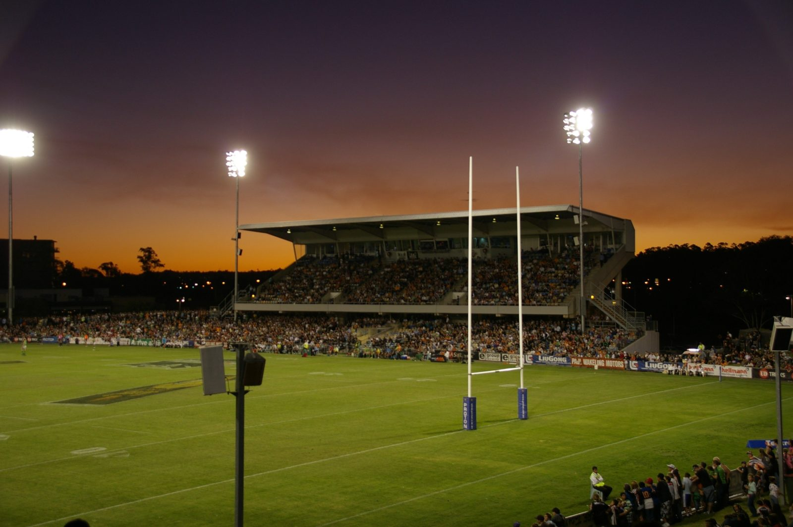 Campbelltown Sports Stadium Night Game