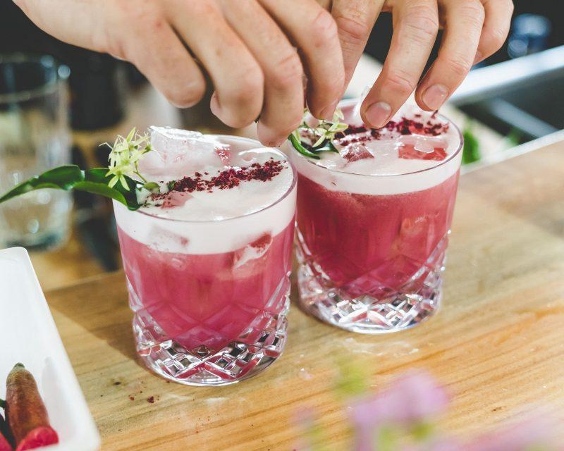 Gin, tasting, cocktails