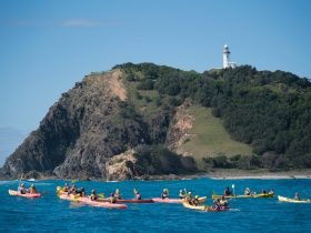Kayak Around Byron