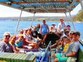 Captain Sponges Magical oyster tours