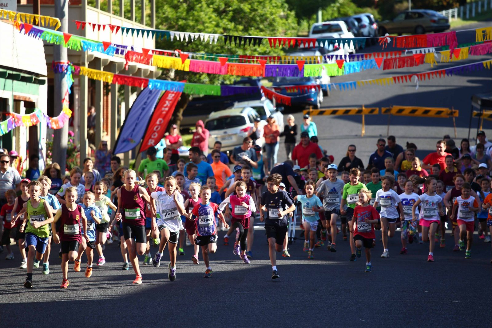 Charge - Start of the Carcoar Cup for Kids