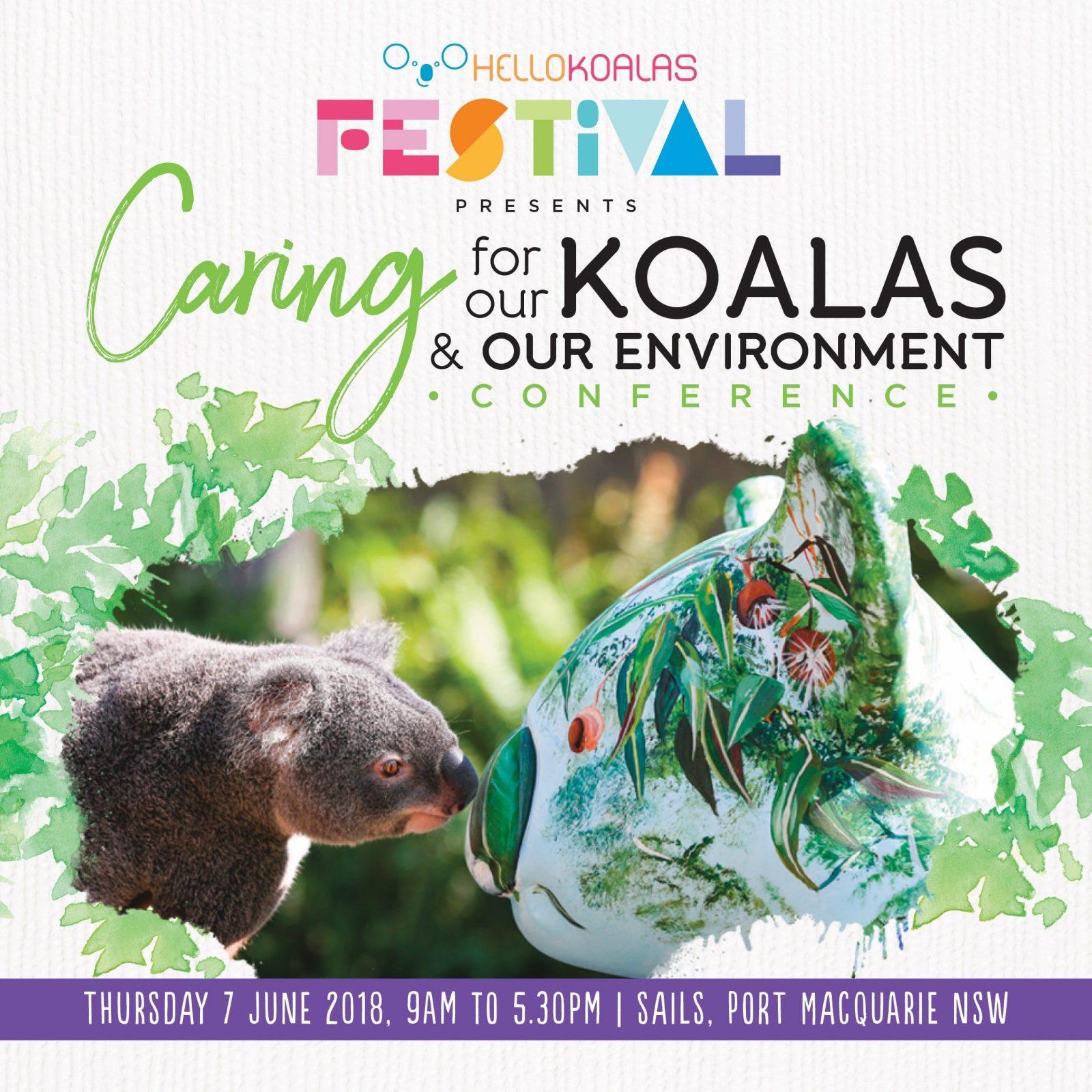 a conference about koala conservation