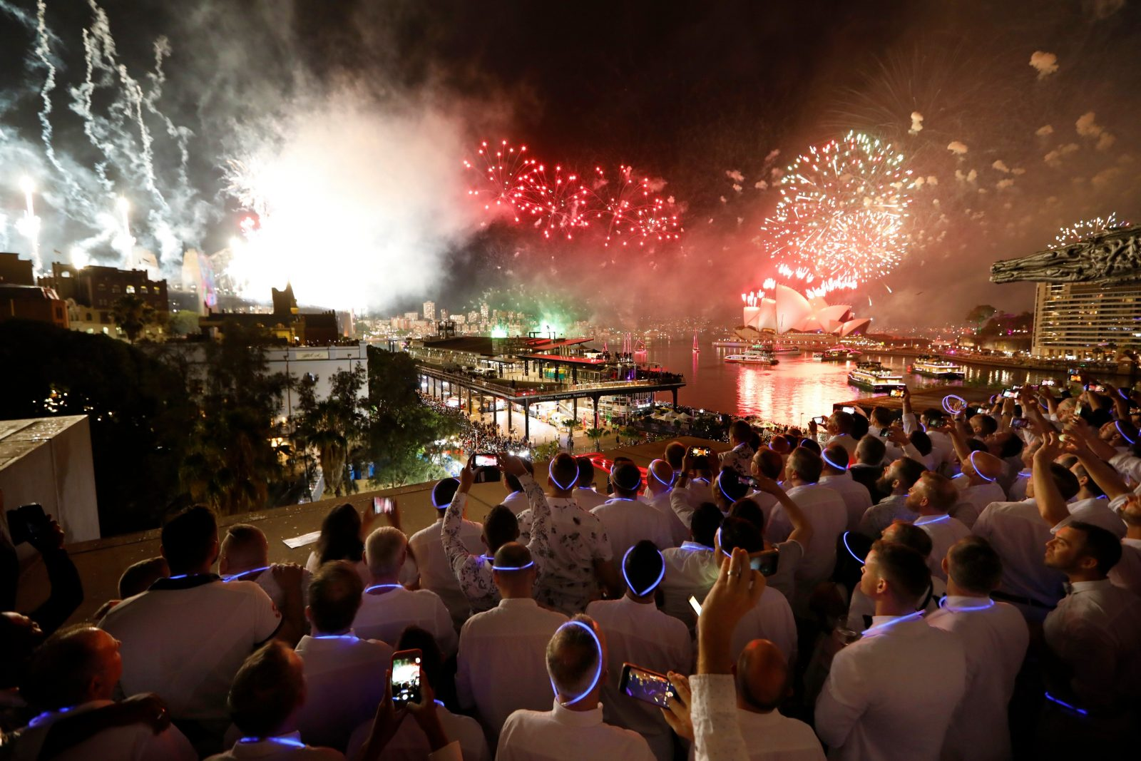 Gay New Year's Eve Sydney Fireworks
