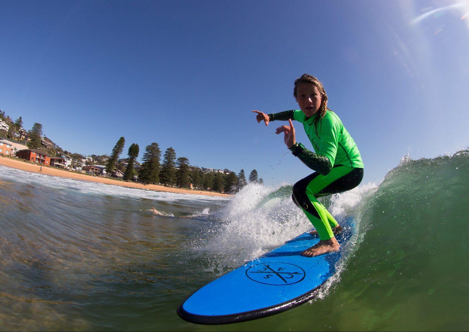 Logan-single surfer