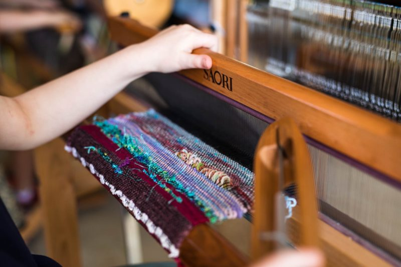 children's weaving
