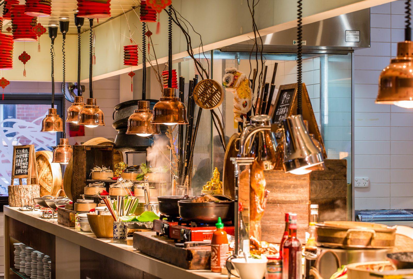 Chinese New Year at Cafe Mix, Shangri-La Hotel, Sydney