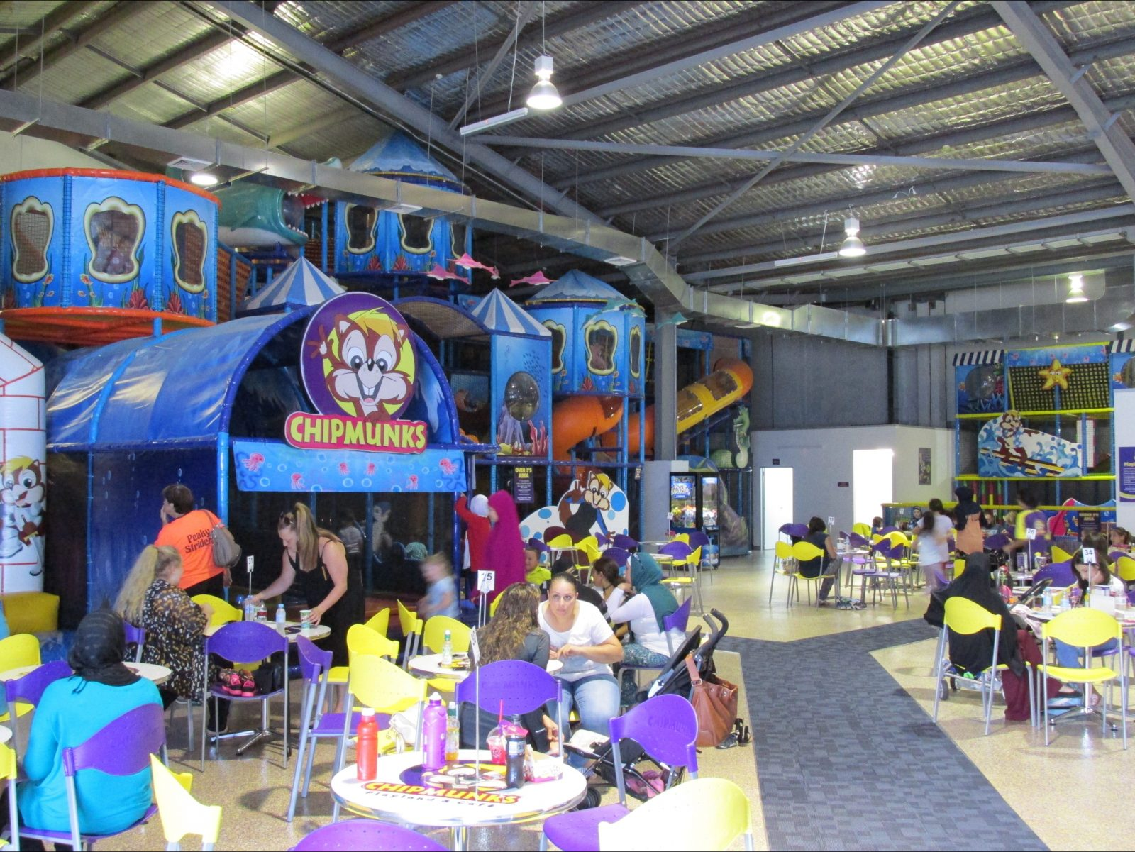 Chipmunks Playland and Cafe