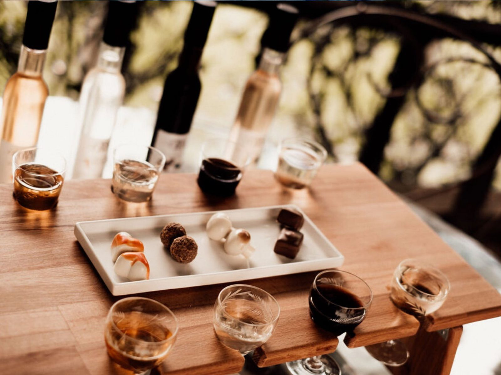 Chocolate and wine pairing on the Central Coast NSW