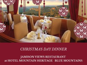 Christmas Day Dinner Hotel Mountain Heritage