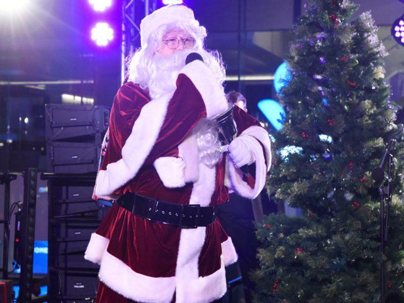 Santa at Christmas in the City