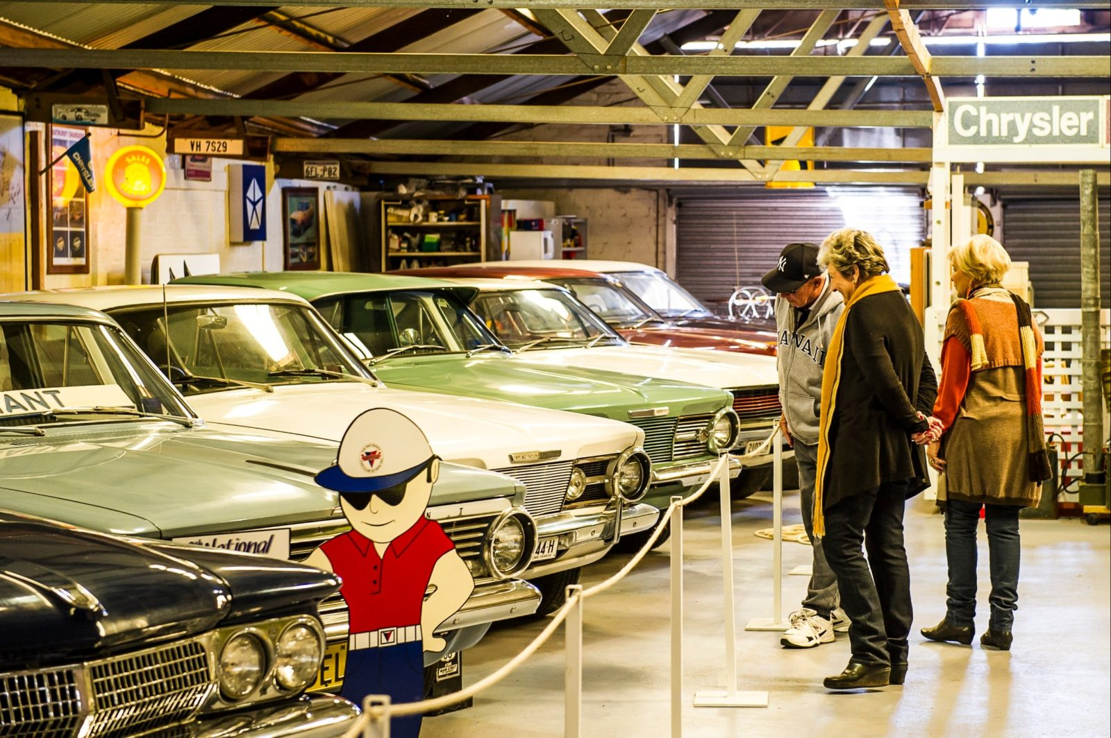 The Chrysler Car Museum in Grenfell NSW