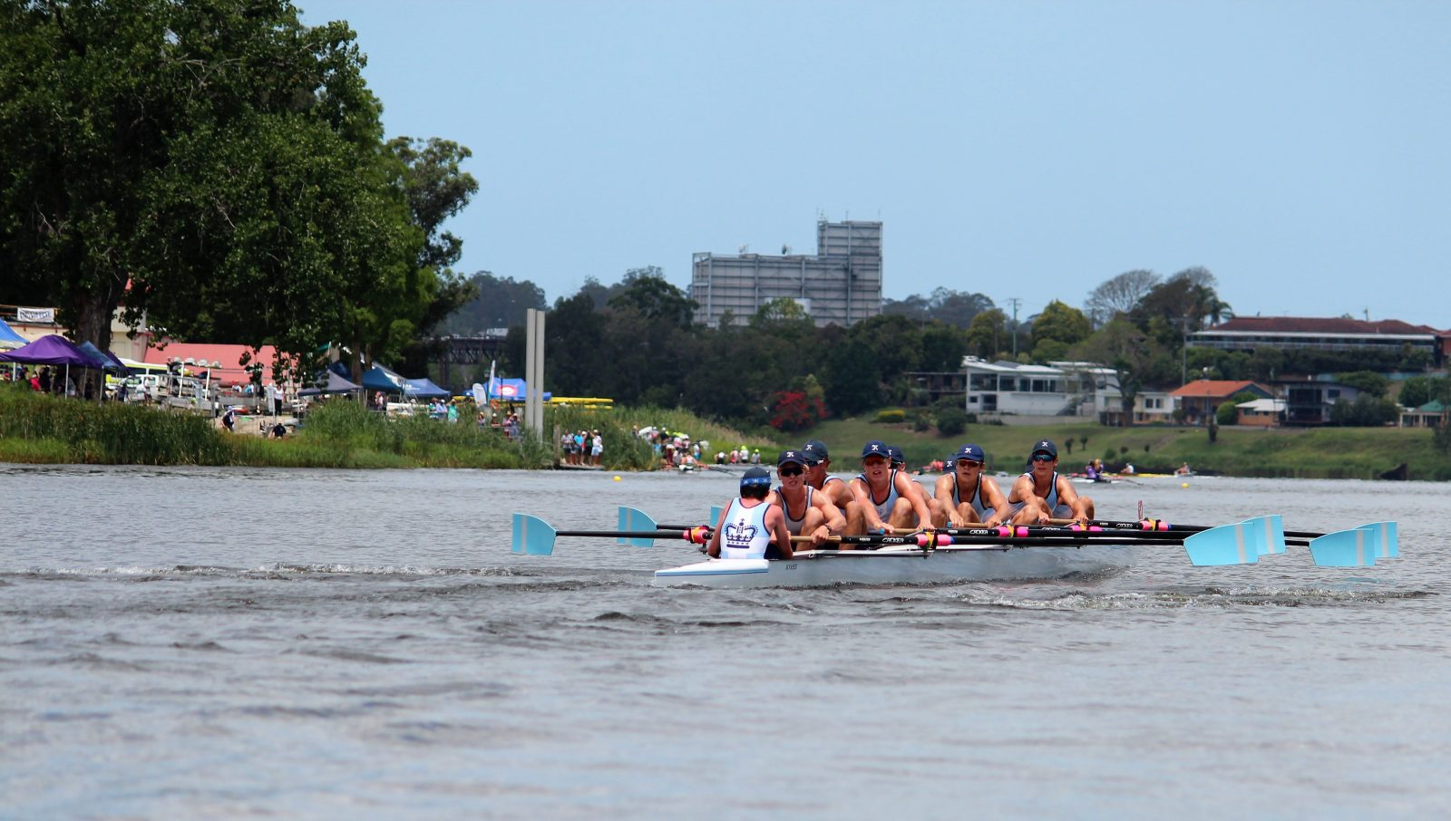 Clarence River, Grafton, High School Rowing