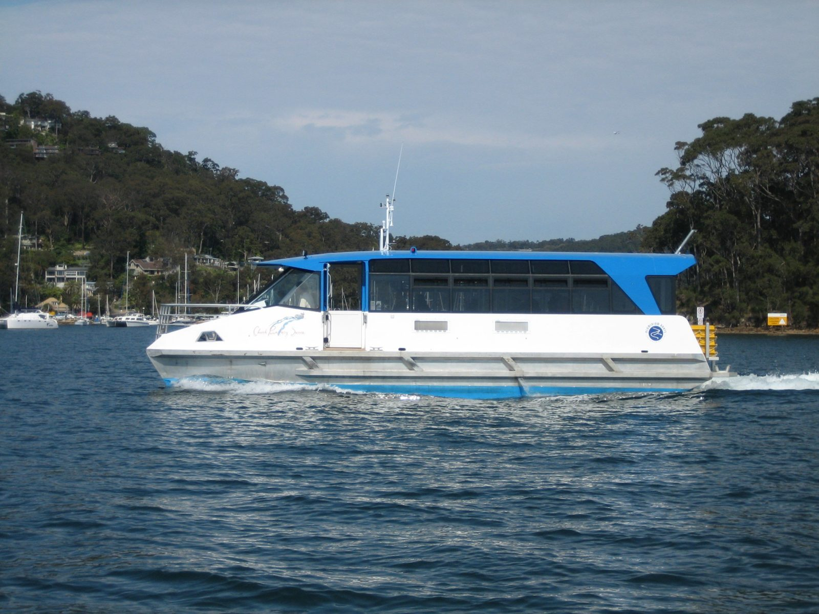L. Duck on Pittwater Route